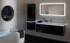 Bathroom Mirror Ideas - Shower room mirror is constantly the most crucial information in the shower room space. Light Architecture, Interior Architecture, Interior Design, Modern Bathroom, Small Bathroom, Room Ideas Bedroom, Amazing Bathrooms, Bathroom Lighting, New Homes