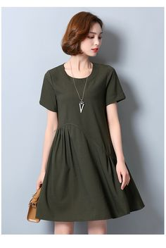ae9a686336df7 2017 Summer Dress Plus Size Women Clothing L~5XL Short Sleeve Loose Elegant  Dress Tunics
