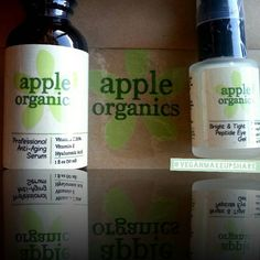Thank you so much @appleorganics for sending  This Vegan+ Cruelty-Free care package!!!!  Professional Anti- Aging Serum  Bright& Tight Peptide Eye Gel  My Website  www.Creestaaal.com Is...