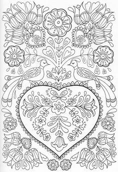 Раскраски антистресс, арт, вдохновение, хобби ;) | Luv to craft ...