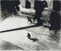 Edward Hopper gravure