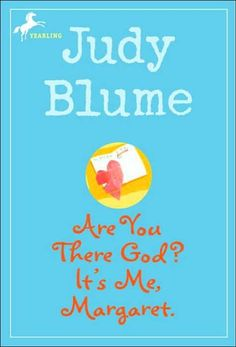 """Are You There God? It's Me, Margaret: Cyndi S. recommends Are You There God? It's Me, Margaret by Judy Blume. The leading character, Margaret Simon, """"speaks her mind"""" and offers her coming-of-age anxieties and concerns as a 12-year-old."""