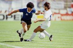 Maradona v Uruguay '86.