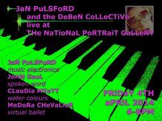 JaNa KYoMooN - THe iLLuSioN oF ReaLiTY: Friday 6.30PM JaN PuLSFoRD brings a mixed media co...