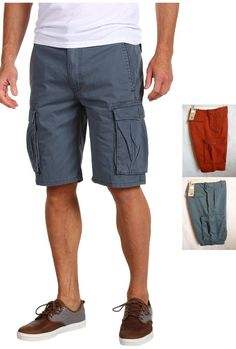 Levi's Men's Cargo I soft twill cargo shorts 30 31 34 36 42 NEW #Levis #Cargo
