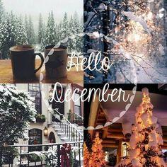 Hallo Dezember Hallo Winter – Winter And New Year Hello December Quotes, Hallo November, Hello December Images, Welcome December Images, December Pics, Happy December, Happy Monday, October, Noel Christmas