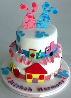 Cool Blues Clues Birthday Cakes