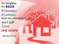 #realestate #donaldtrump #quote