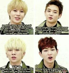 Oh come on Jinki! Don't be to modest. We all know you can sing like that as well. :D