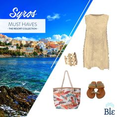 Casual luxury! It is the perfect style for you to wear while visiting gorgeous #Syros! See the complete Blε Resort Collection here https://www.facebook.com/BleCollection/photos/a.1998130553744935.1073741828.1947233738834617/2104962039728452/?type=3&theater #BleResortCollection #Fashion #AutumnFashion #Style #Autumn #Blouse #Jewellery #Greekislands #Holidays #Casual #Luxury