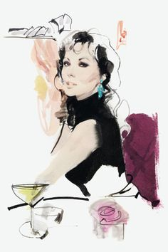 David Downton Blog, Illustrations & Photos (Vogue.com UK)