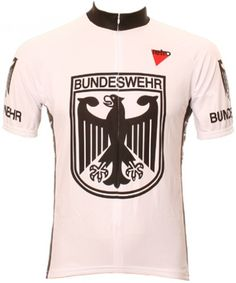 Retro cycling jersey Bundeswehr 5657a09d2