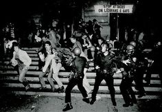 Police raid the Stonewall Inn in NYC, inciting riots that would mobilize the LGBT community throughout the U.S. & world, June 28, 1969