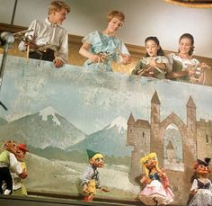 Sound of Music Marionettes-Maria's counterpart yodeling brings a smile and a rewind every time.
