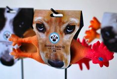 Doggie Dazzle Branding Wraps Pup Products with their Fetching Faces