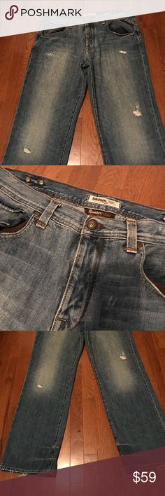 """Authentic"" Brown Label Men's Jeans Brown Label Men's Jeans 36x34 Brown Label Jeans Straight"