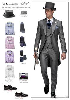 grey morning suit purple - Google Search