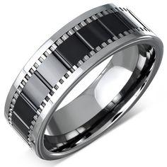 ► Nyheter! Nya ringar i tungsten, keramik och rostfritt stål! En del av ringarna finns i lite större och fler storlekar än vanligt. Vill du vara säker på att få en av dessa snygga ringar så skynda dig, de finns endast i några få exemplar! * 4 ringar i tungsten * 1 ring i keramik * 1 ring i rostfritt stål