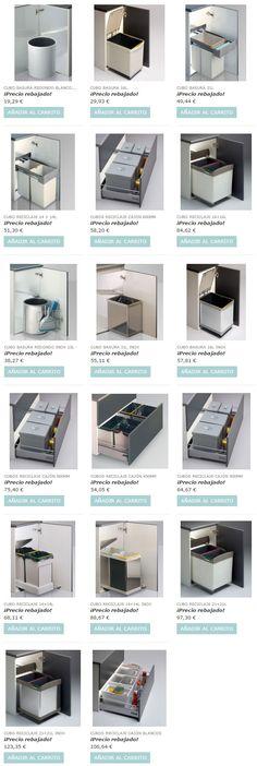 Gran oferta de cubos de basura y de reciclaje al mejor precio. www.casaenorden.com