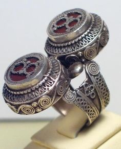Silver ring from Kazakhstan.
