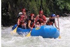 White water rafting in Panama! My #travelcompanion won't enjoy this as much as the day of fishing, but it looks like a lot of fun!