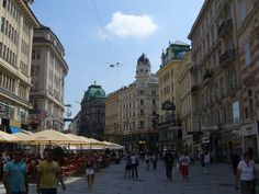 Vienna at its best Graben