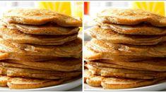 Jablečné lívance pro štíhlý pas: Žádná mouka, olej a tak výborné, že na mastnou klasické si nikdo nevzpomene! Recipe Mix, Pancakes, Breakfast, Health, Recipes, Food, Diet, Food And Drinks, Breakfast Cafe