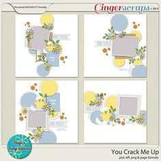 You Crack Me Up by Dagi's Temp-tations! 50% off through April 5th! #templates