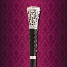 This Gambler's Sword Cane has hidden die in the handle with sterling silver fittings, a horn handle, and engraved scrollwork stating my good luck charm. Walking Sticks And Canes, Wooden Walking Sticks, Walking Canes, Cannes, Cane Sword, Hidden Weapons, Folding Cane, Cane Handles, Wooden Canes