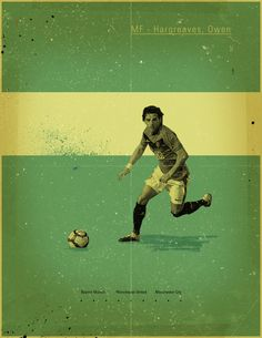 Famous Footballers 2 by Jon Rogers, via Behance