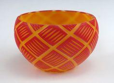 Nick Leonoff-Blown & Carved Glass