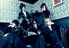 The visual kei band Cocklobin, this is their new look