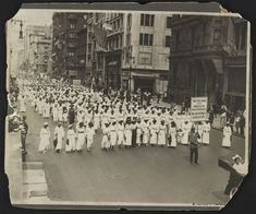"""""""The First Blood for American Independence Was Shed by a Negro: Crispus Attucks"""" - A silent march to protest the police's treatment of blacks during riots in East St. Louis, 1917  Photo credit: Underwood & Underwood"""