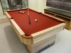 Carrinho Iliada Pool Table   Home Leisure Direct   Customer Installation
