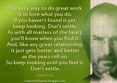 Steve Jobs' Inspirational Quote   Abacus1001Quotes