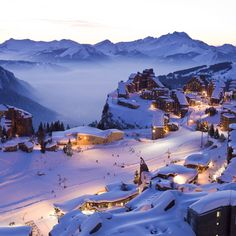A world apart: Avoriaz, France