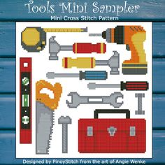 Need some tools for a sampler? Here is a great resource that works well with any other elements like trucks and transportation.