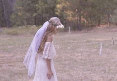 Vintage inspired wedding dress, lace vintage looking gown |