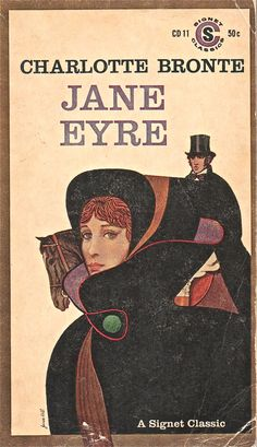 Jane Eyre Vintage Book Cover