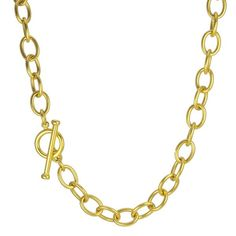 link chain gold pink chains flat oval