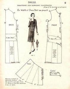 .sewing pattern