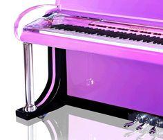 Purple piano!