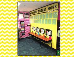 Mini Writing Bulletin Boards