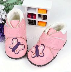 Cute & Warm Butterfly Baby Toddler Shoes
