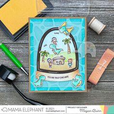 mama elephant | design blog: Arch Snow Globe with Megan