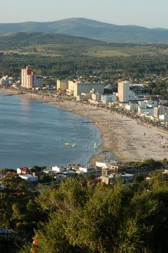 Full beach season.  Piriapolis, Uruguay.