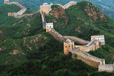 De welbekende Chinese muur