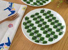 誰もが憧れる葉模様の北欧食器 グスタフスベリ/Gustavsberg ベルサ/BERSA プレート 18cm