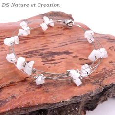 Rainbow moonstone bracelet natural crystal by DSNatureetCreation https://www.etsy.com/listing/253382536/rainbow-moonstone-bracelet-natural