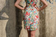 Beautiful dress with lace with floral prints from Be Chic Fashion picture #4